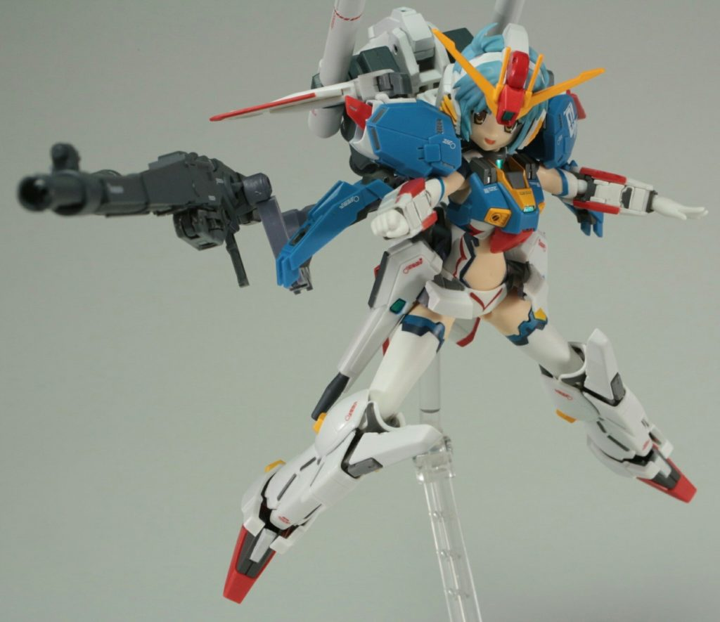 シマーモ's Full Review: MS GIRL [Armor Girls Project] S-GUNDAM