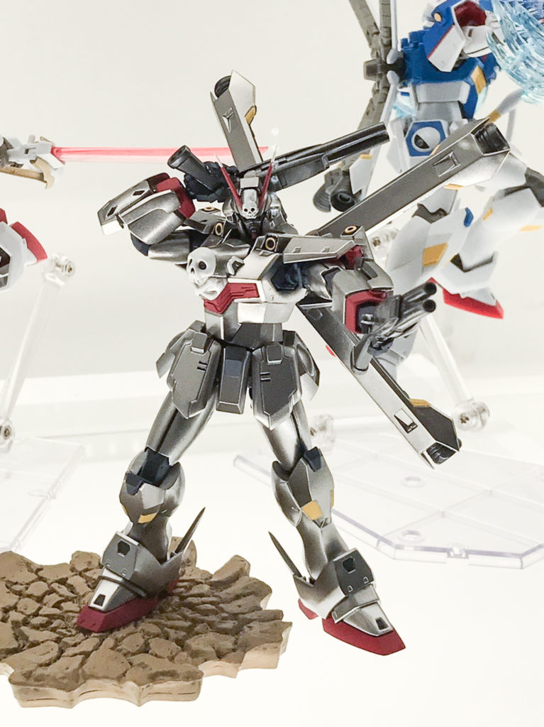 ROBOT魂 CROSSBONE GUNDAM X-0 on display @ Akiba Showroom. Big Size Images