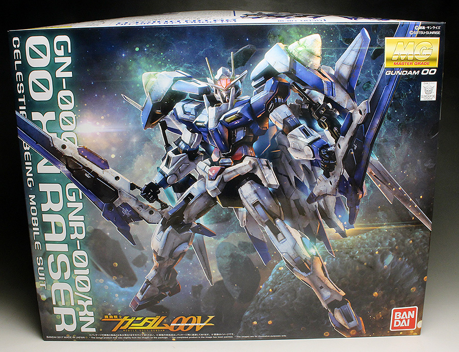 [WORK REVIEW] P-Bandai MG 1/100 00 XN RAISER [Gundam 00V] painted build (Many Images)