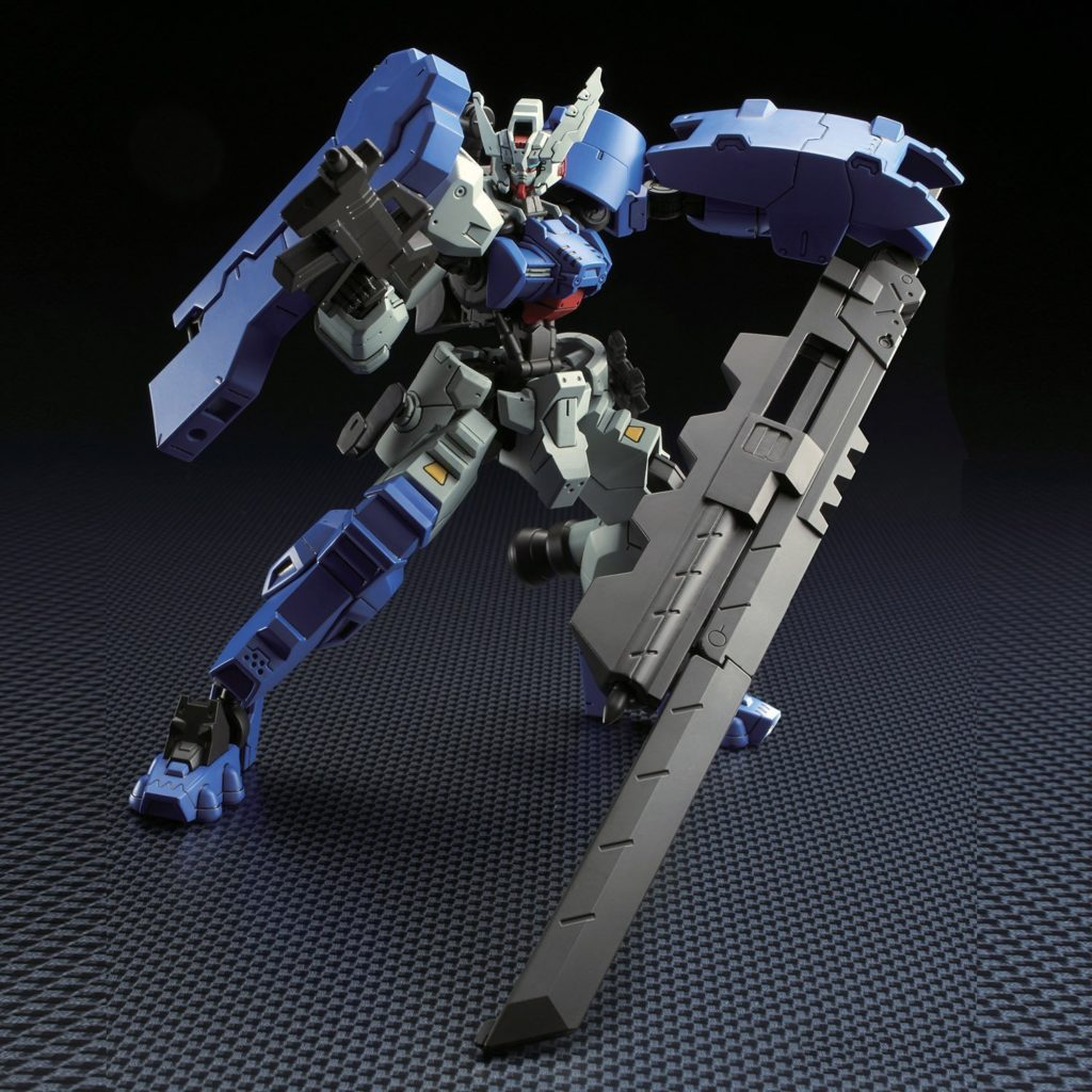 HG IBO 1/144 ASW-G-29 Gundam Astaroth Rinascimento: Just Added NEW Big Size Official Images, Info Release