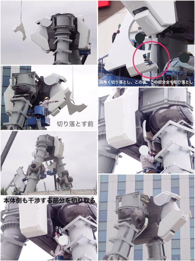 The Life-Sized Unicorn Gundam Statue: Work In Progress (Update 27th July 2017) Images, Credits