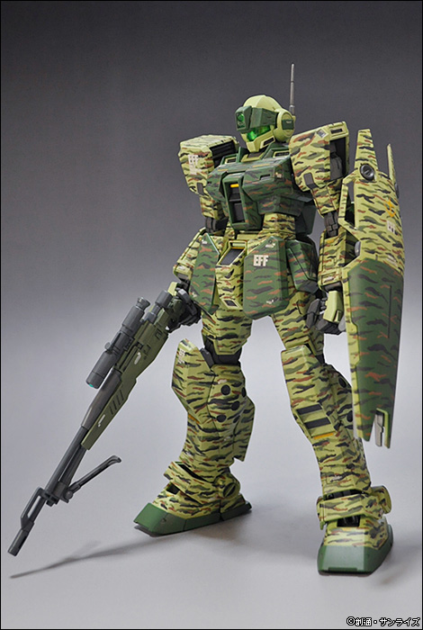 [FULL REVIEW] Bandai Hobby Site's MG 1/100 GM SNIPER II Ver. CAMOUFLAGE