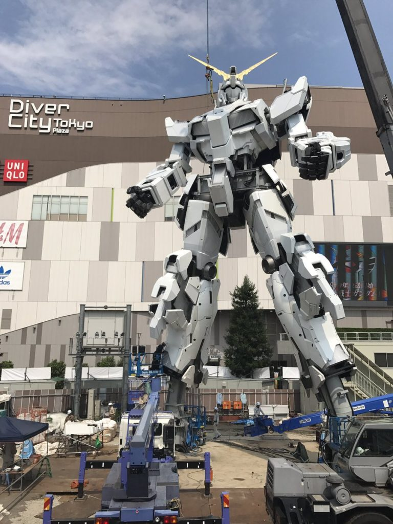 The Life-Sized Unicorn Gundam Statue: Work In Progress (Update 26th August 2017) No.9 NEW Images, credits