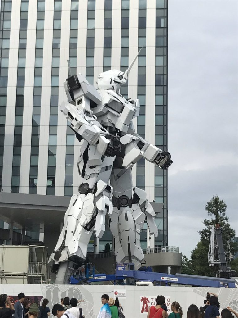 The Life-Sized Unicorn Gundam Statue: Work In Progress (Update 27th August 2017) NEW Images, credits