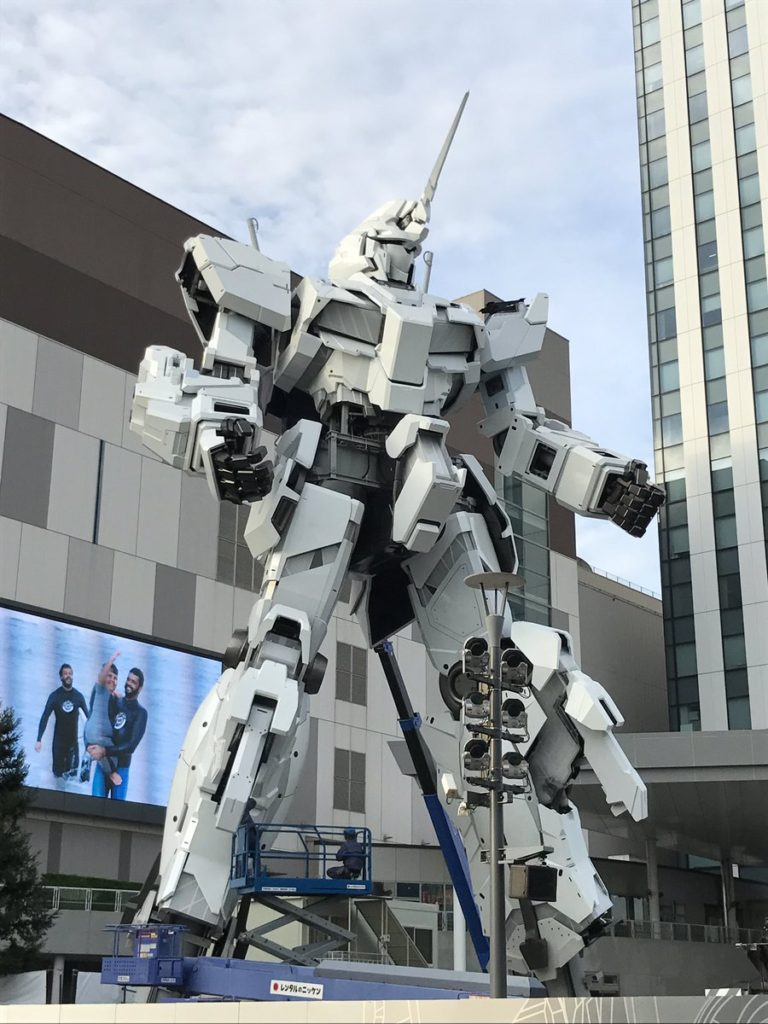The Life-Sized Unicorn Gundam Statue: Work In Progress (Update 25th August 2017 PART TWO) No.6 NEW Images, credits