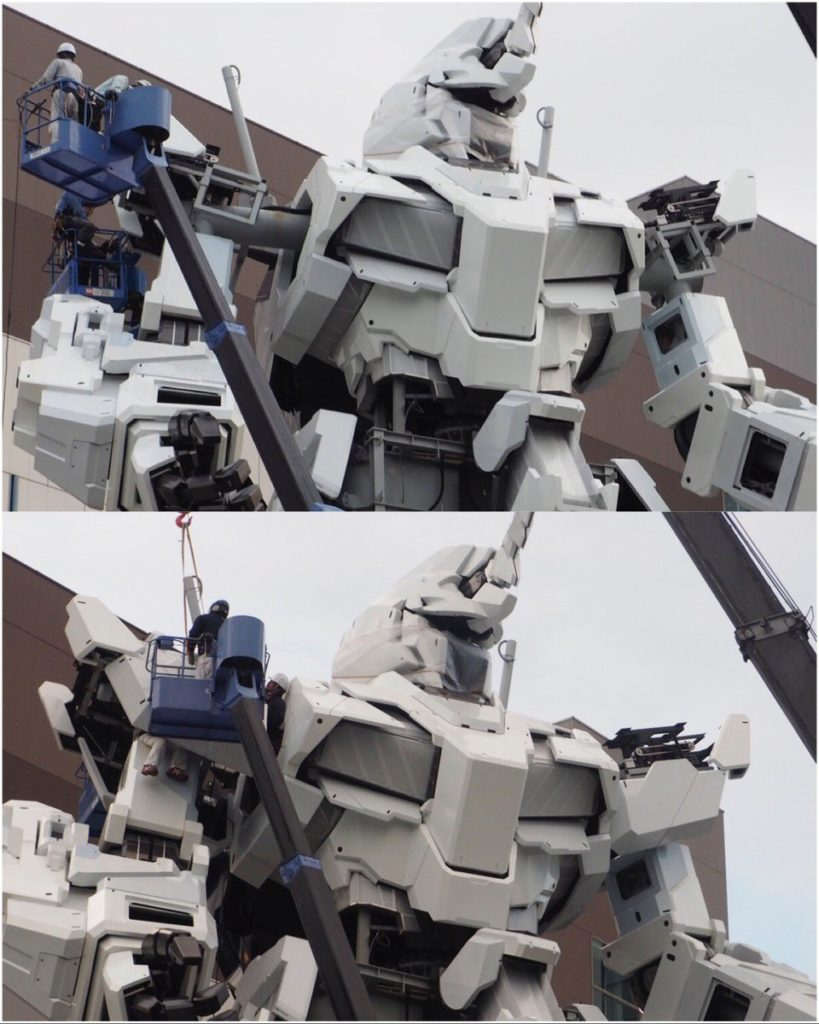 The Life-Sized Unicorn Gundam Statue: Work In Progress (Update 22th August 2017) No.8 NEW Images, credits