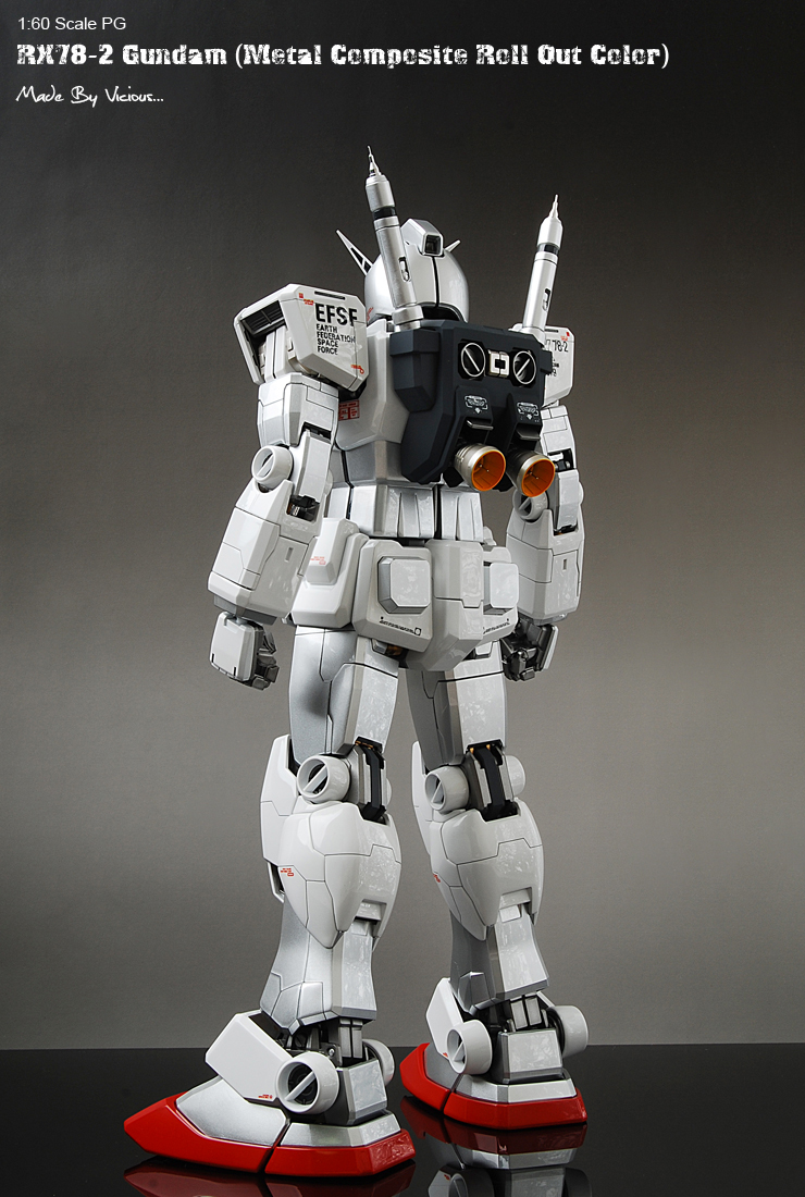 Vicious S Pg 1 60 Rx 78 2 Gundam Metal Composite Roll Out
