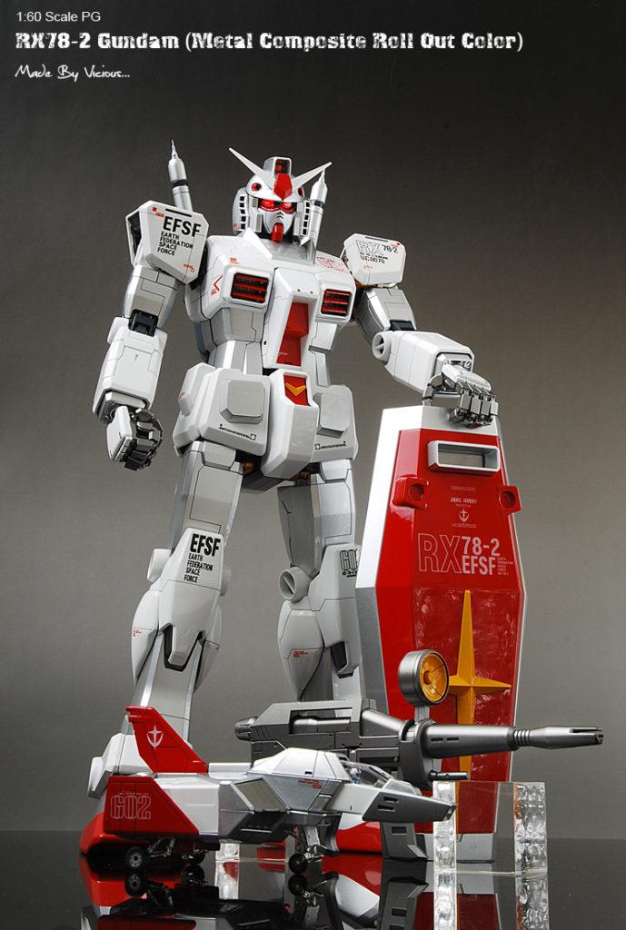 vicious's PG 1/60 RX-78-2 Gundam (Metal Composite Roll Out Color Ver.)