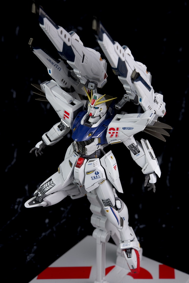 [FULL REVIEW] METAL BUILD 1/100 GUNDAM F91 MSV OPTION SET: Many Images, Info