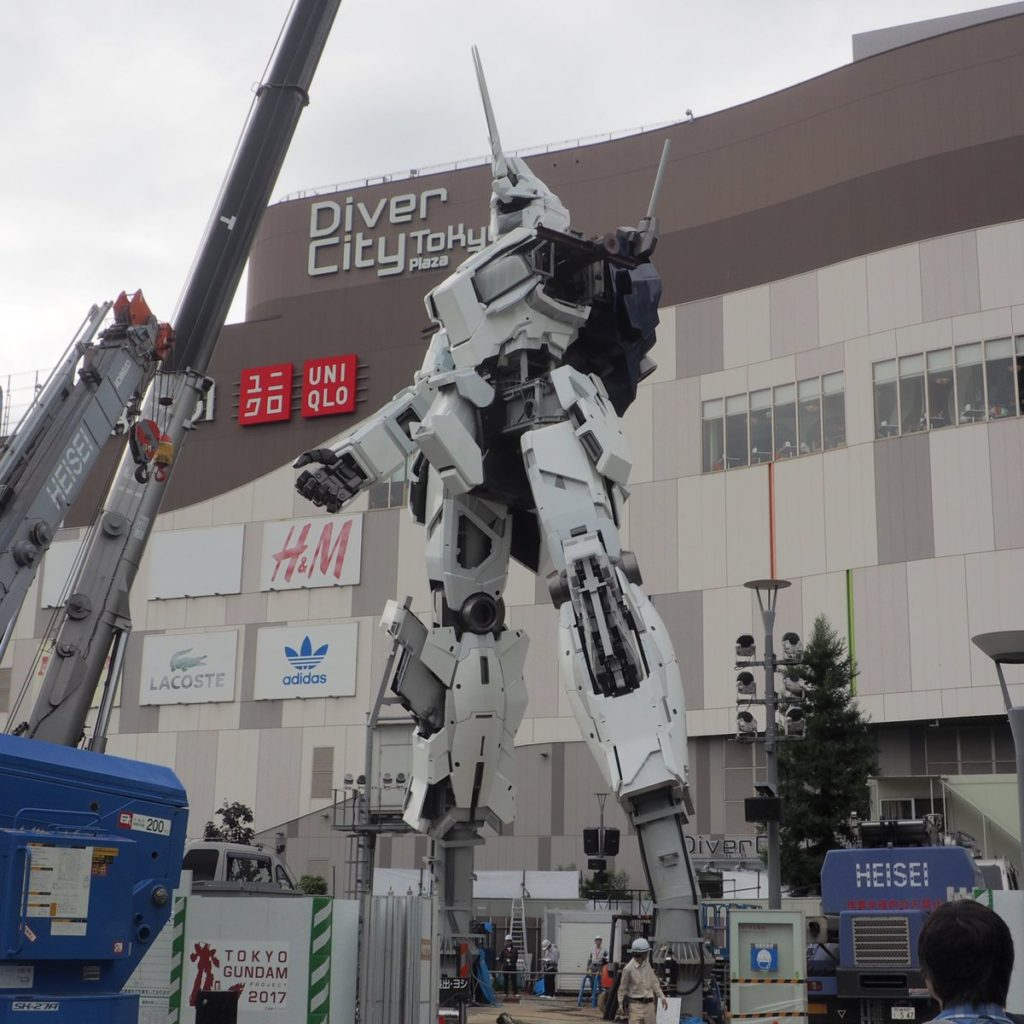 The Life-Sized Unicorn Gundam Statue: Work In Progress (Update 17th August 2017) No.8 NEW Images, credits