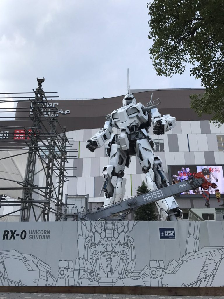 The Life-Sized Unicorn Gundam Statue: Work In Progress (Update 19th August 2017) No.20 NEW Images, credits