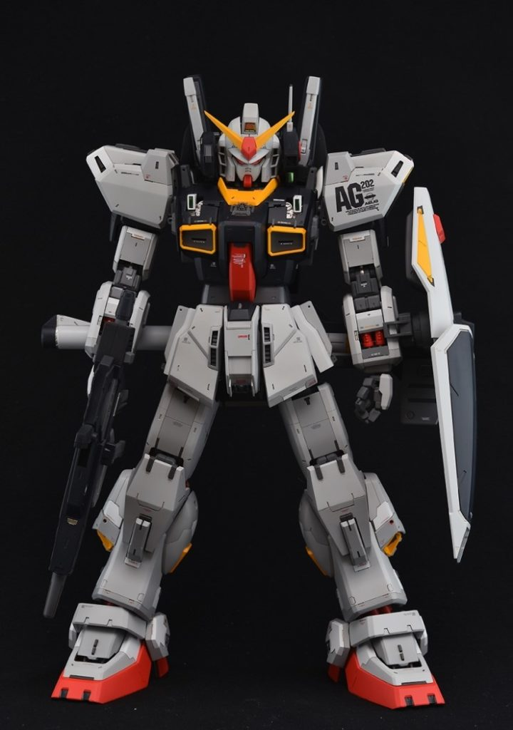 Kenshin's PG 1/60 RX-178 Gundam Mk-II A.E.U.G. Many Images, info