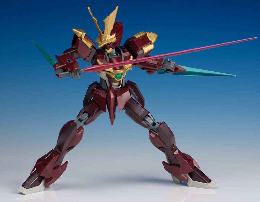 [FULL DETAILED REVIEW] HGBF 1/144 NINPULSE GUNDAM (Nils Nielsen's Mobile Suit) Many Big Size Images