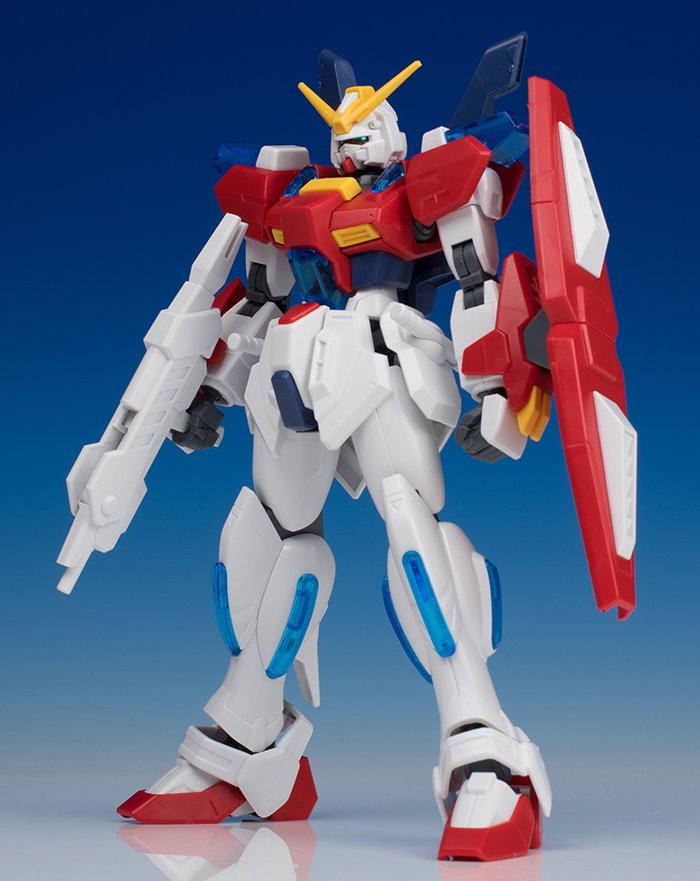 [FULL DETAILED REVIEW] HGBF 1/144 STAR BURNING GUNDAM Sei Iori's Mobile Suit. Many Big Size Images
