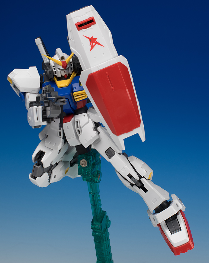 [FULL REVIEW] P-Bandai RG 1/144 GUNDAM Mk-II RG LIMITED COLOR Ver. Many Images