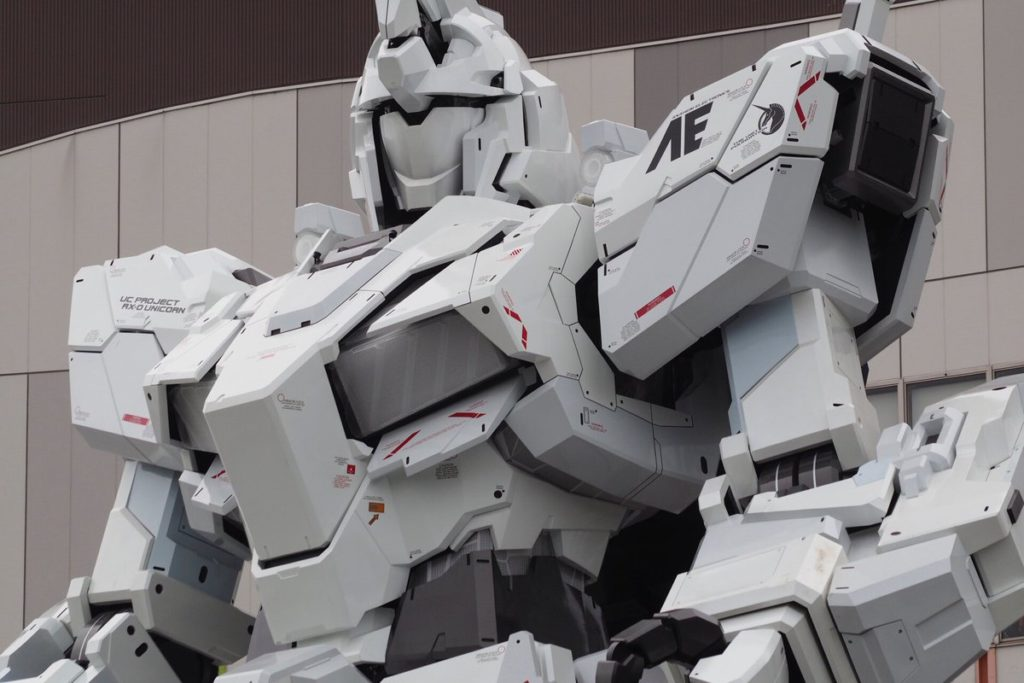 The Life-Sized Unicorn Gundam Statue: Work In Progress (Update 1st September 2017) No.9 NEW Images, credits