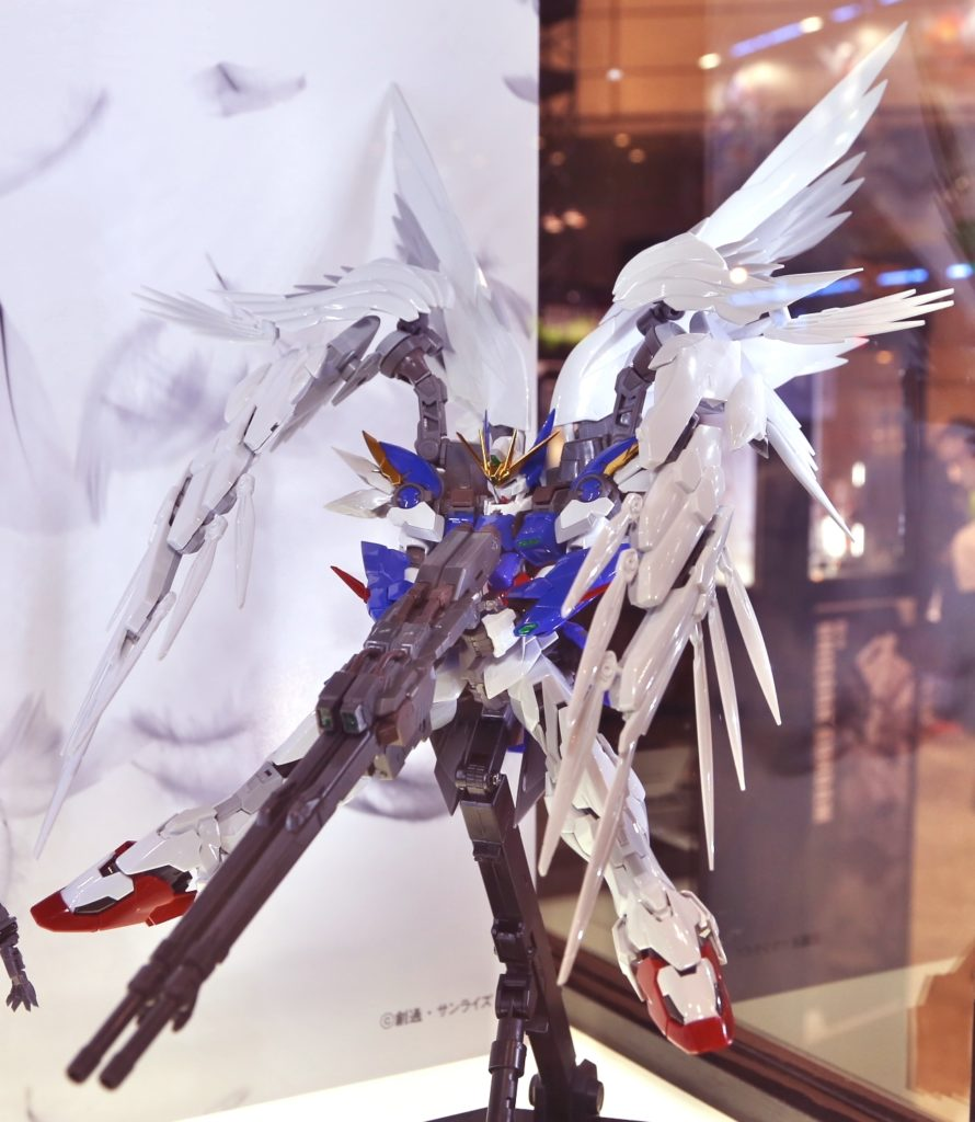 [Hi-Resolution Model] HiRM 1/100 Wing Gundam Zero EW @ C3AFA TOKYO 2017. Big Size Images, Info Release