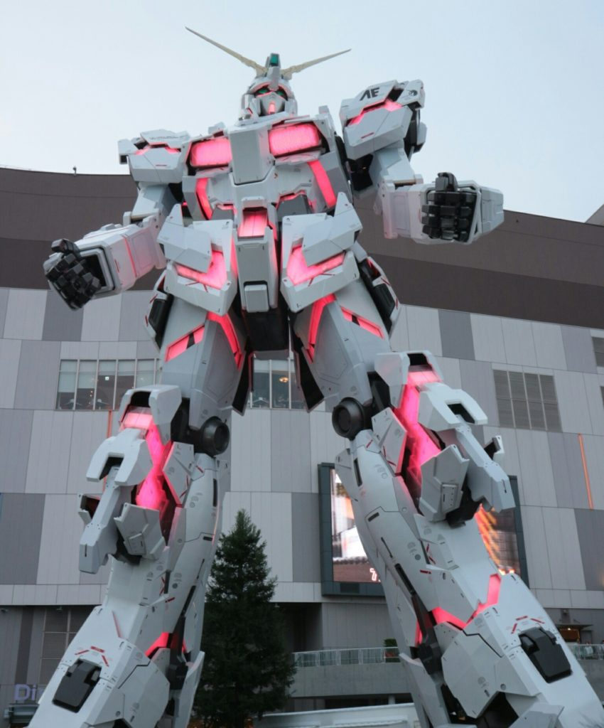 The Life-Sized Unicorn Gundam Statue: (Update 28th September 2017) No.11 NEW Big Size Images, Credits
