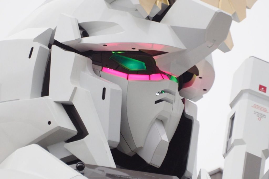 The Life-Sized Unicorn Gundam Statue: Work In Progress (Update 4th September 2017) No.17 NEW Big Size Images, credits
