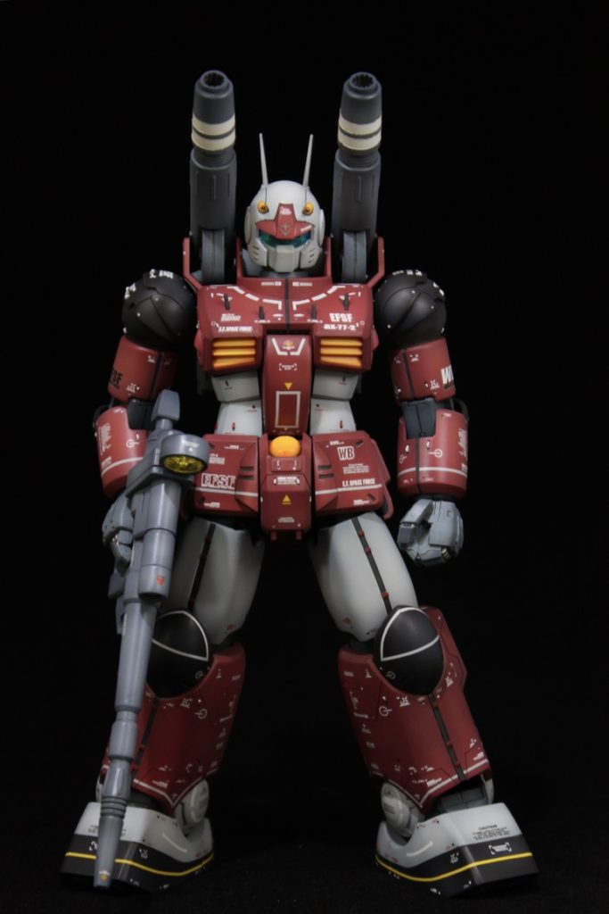 jaian913's MG 1/100 REAL TYPE RX-77-2 GUNCANNON CUSTOM. review, wip