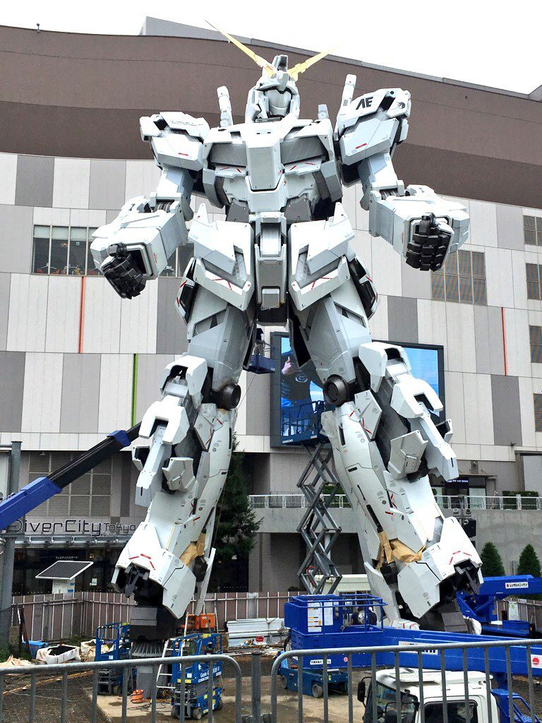 The Life-Sized Unicorn Gundam Statue: Work In Progress (Update 7th September 2017) No.6 NEW Big Size Images, credits