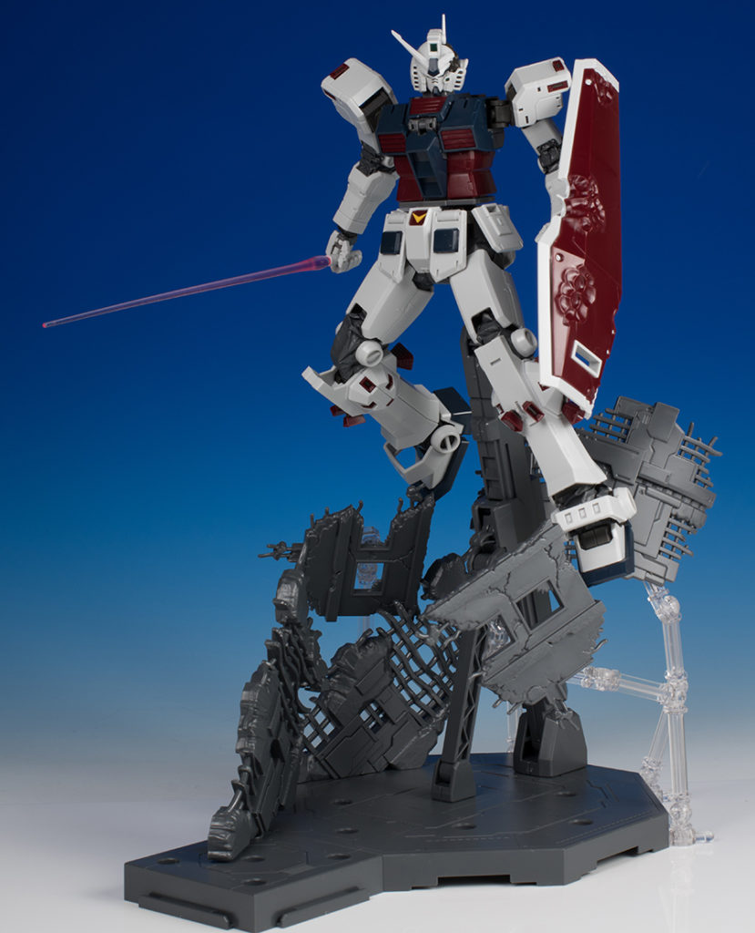 [FULL DETAILED REVIEW] P-Bandai MG 1/100 FULL ARMOR GUNDAM [GUNDAM THUNDERBOLT LAST SESSION Ver.] Many Images
