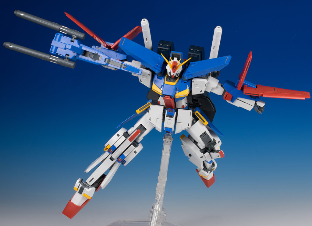 [3rd FULL DETAILED REVIEW] MG 1/100 ZZ GUNDAM Ver.Ka PART ONE (No.64 Images)