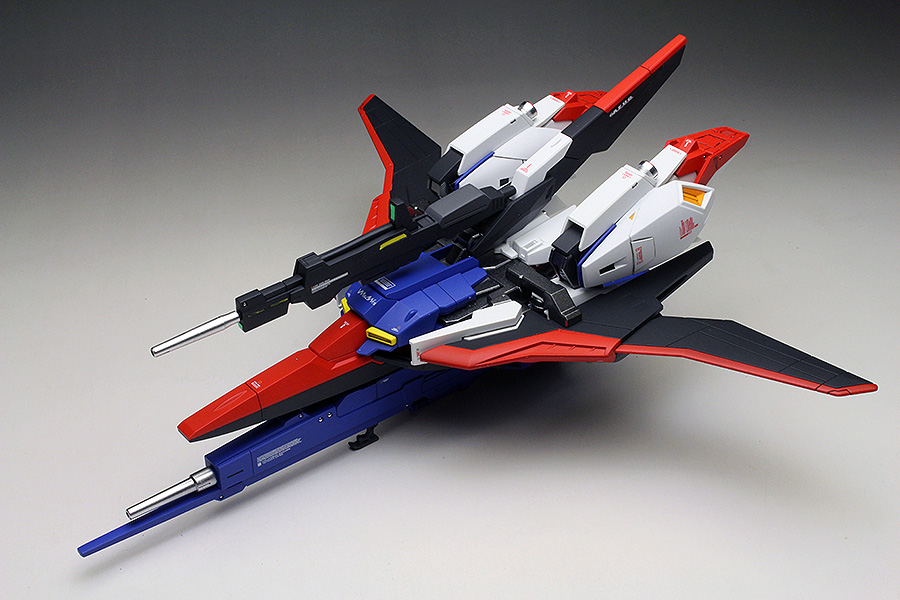 [WORK REVIEW] P-Bandai HGUC 1/144 ZETA GUNDAM [WAVE SHOOTER] painted build