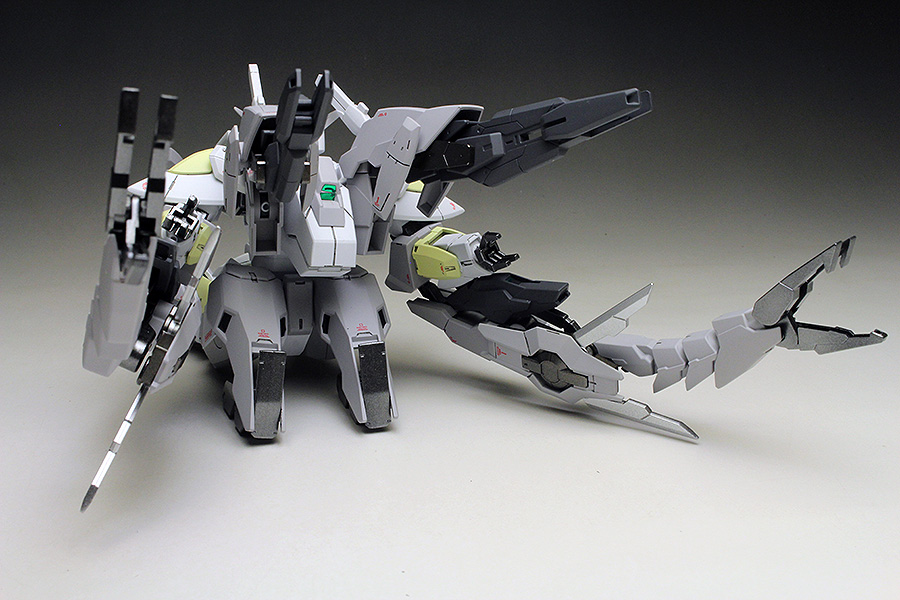 [WORK REVIEW] HGBF 1/144 REVERSIBLE GUNDAM painted build, images