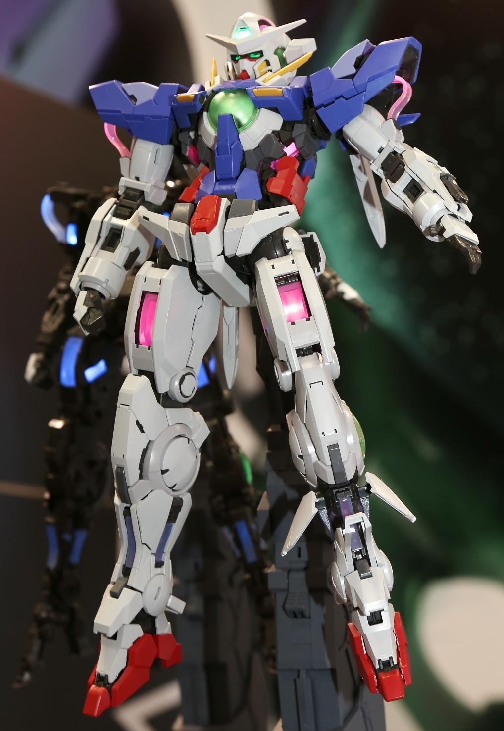 Pg 1 60 Gundam Exia Lighting Model Full Photoreport No