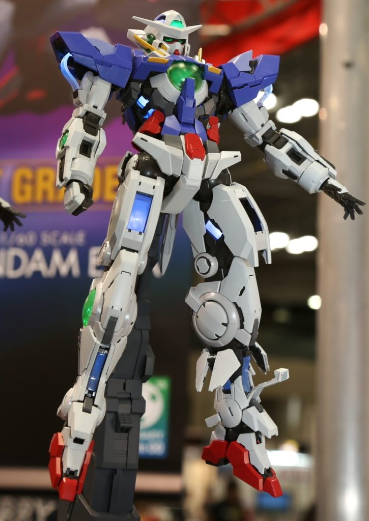 PG 1/60 GUNDAM EXIA (LIGHTING MODEL): Full Photoreport, No.16 NEW big size images on Display, info release
