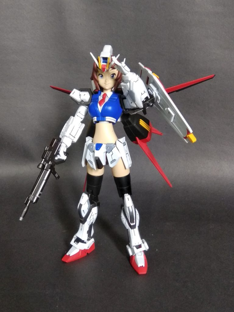 HGBF 1/144 Super Fumina Strike Custom. Images, Info
