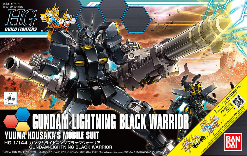 [FULL REVIEW] HGBF 1/144 GUNDAM LIGHTNING BLACK WARRIOR No.95 Big Size Images