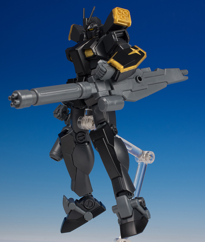 [2nd FULL REVIEW] HGBF 1/144 GUNDAM LIGHTNING BLACK WARRIOR Yuuma Kousaka's Mobile Suit. No.63 Big Size Images