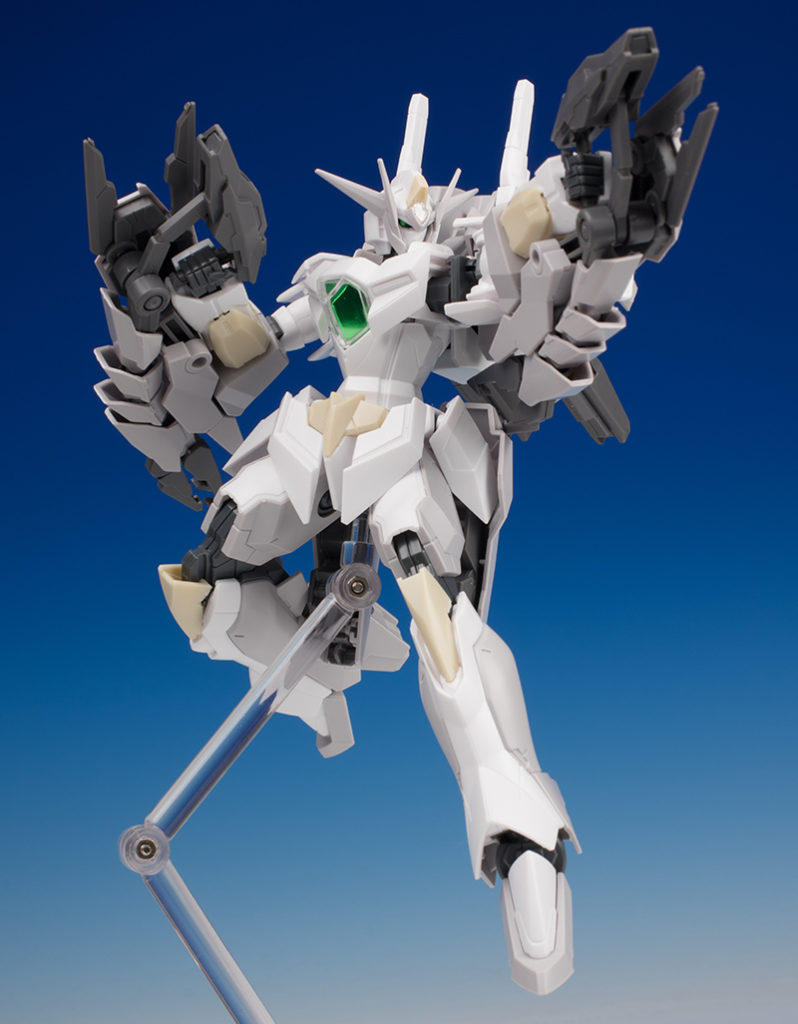 [FULL REVIEW] HGBF 1/144 REVERSIBLE GUNDAM Allan Adams's Mobile Suit. Many Big Size Images
