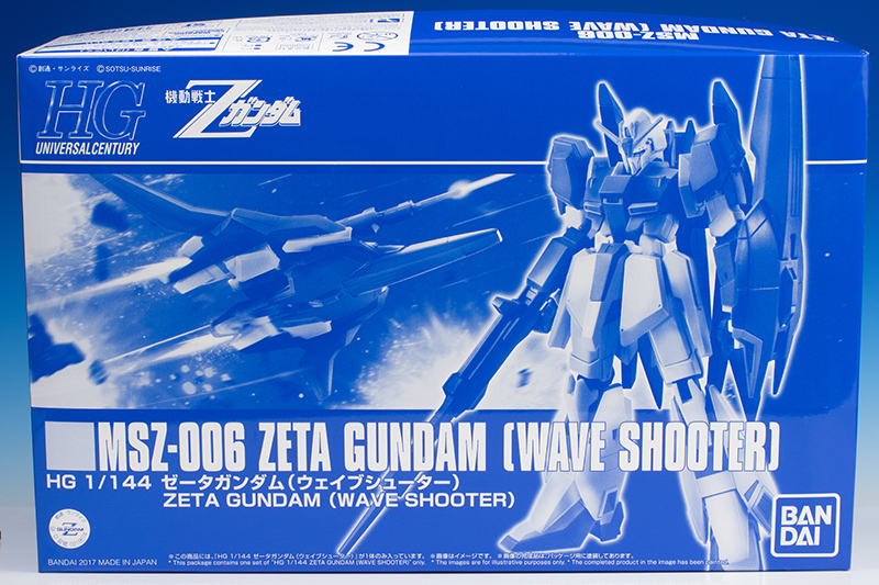 [FULL REVIEW] P-Bandai HGUC 1/144 ZETA GUNDAM [WAVE SHOOTER]. Many Images