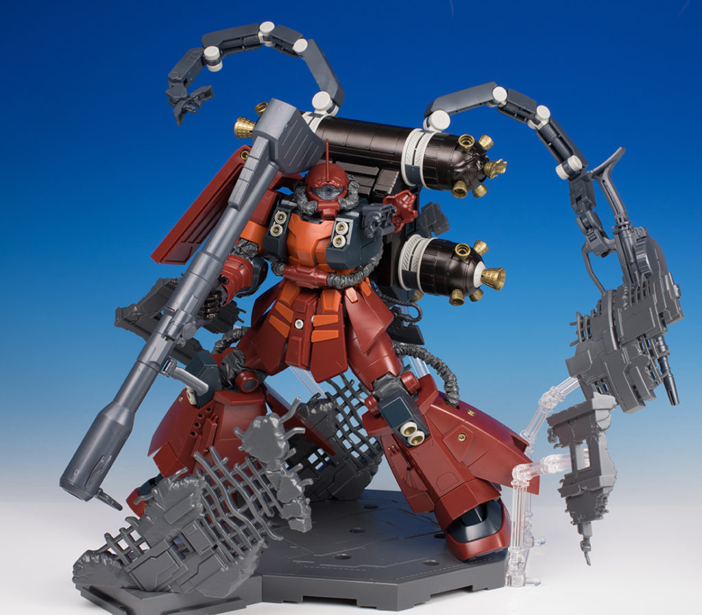 [FULL REVIEW] P-Bandai MG 1/100 PSYCHO ZAKU [Gundam Thunderbolt] LAST SESSION Ver. Many Images