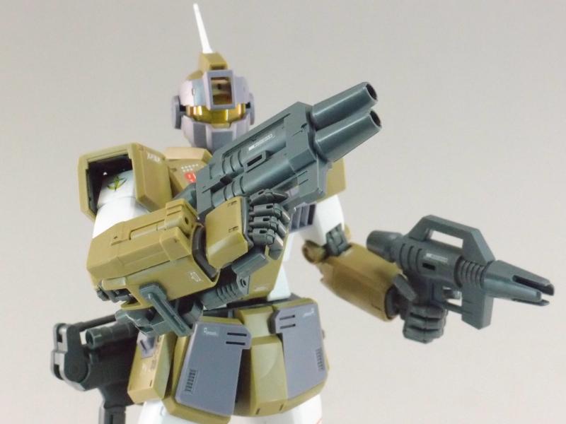 REVIEW: MG 1/100 RGM-79SC GM SNIPER CUSTOM (MS Gundam MSV Series)