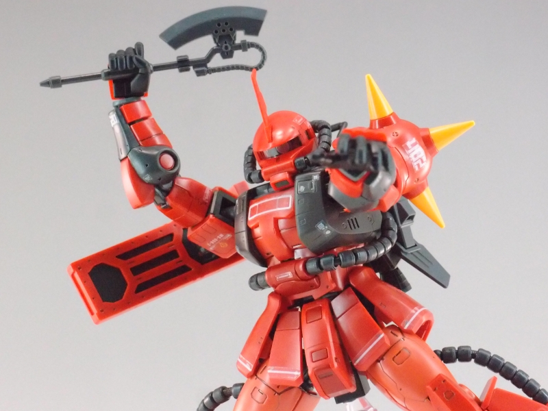 REVIEW: RG 1/144 MS-06R-2 JOHNNY RIDDEN'S ZAKU II (MS Gundam MSV Series)