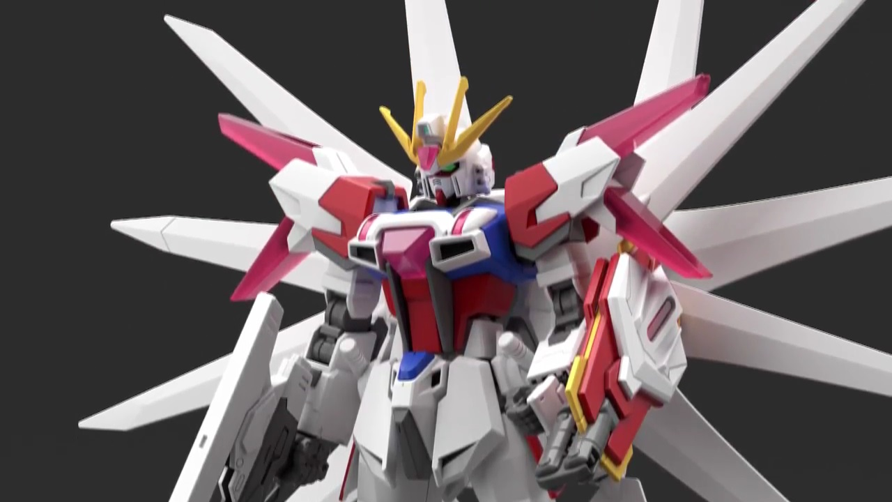 HGBF 1/144 Build Strike Galaxy Cosmos on Display @ Gundam ...