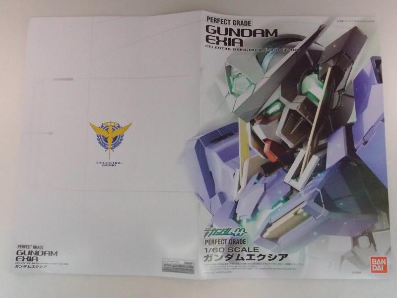 PG 1/60 GN-001 GUNDAM EXIA: Box Open Review