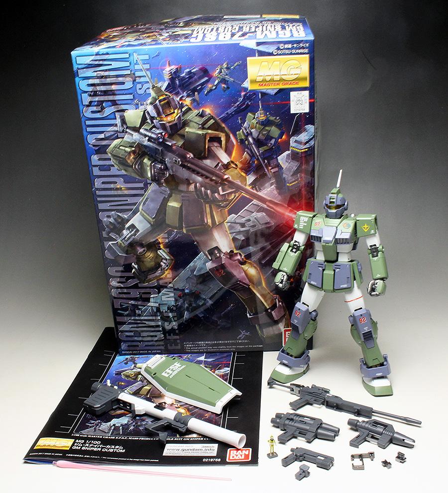 [WORK REVIEW] MG 1/100 RGN-79SC GM SNIPER CUSTOM [MS Gundam MSV Series] painted build