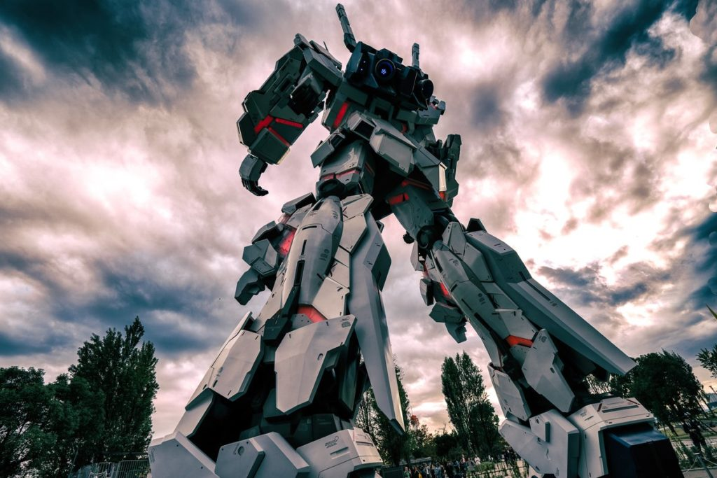 The Life-Sized Unicorn Gundam Statue: No.9 Amazing Photos by HELL_HOUND_No9 on Twitter