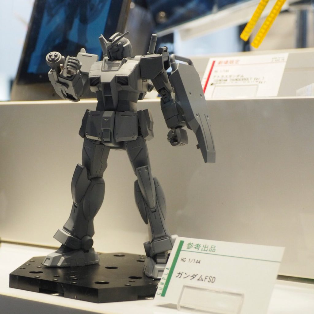 HG 1/144 GUNDAM FSD [Full-Scale Development] on Display @ Gundam Docks at Tokyo: Images