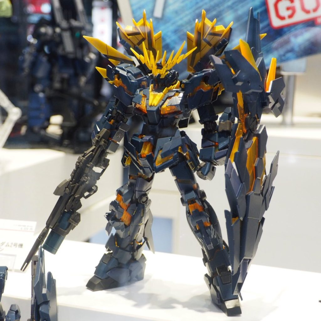 RG 1/144 UNICORN GUNDAM 02 BANSHEE NORN on Display @ Gundam Docks at Tokyo: Many Images, Info Release