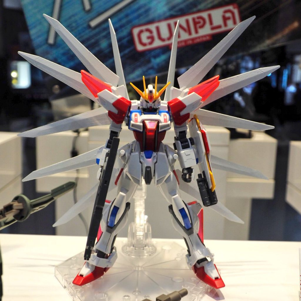 HGBF 1/144 Build Strike Galaxy Cosmos on Display @ Gundam Docks at Tokyo: Many Images, Info Release