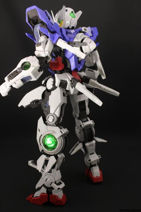 REVIEW: PG 1/60 GUNDAM EXIA Assembled. No.72 Images
