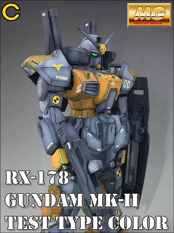Cryth's MG 1/100 RX-178 GUNDAM MK-II TEST TYPE COLOR. No.16 Images, Info