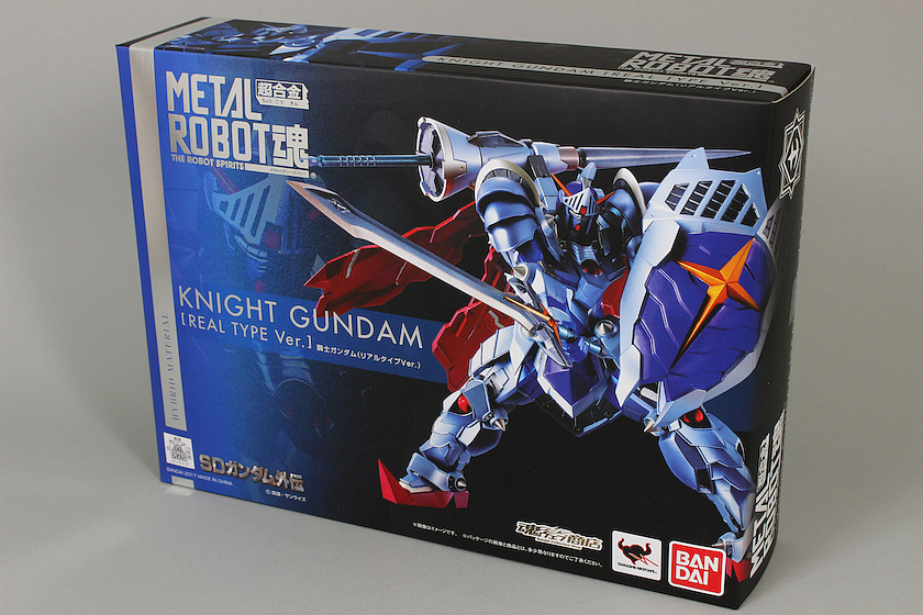 FULL REVIEW: METAL ROBOT魂 KNIGHT GUNDAM [REAL TYPE Ver.] Images, Info