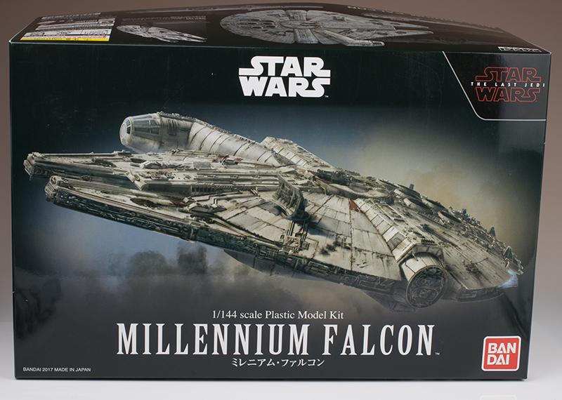 REVIEW Bandai x Star Wars THE LAST JEDI: 1/114 MILLENNIUM FALCON. No.46 Big Size Images